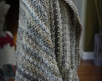 Crocheted Woodlands Shrug