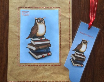 Knowledge A5 Notebook -Magical Stationery
