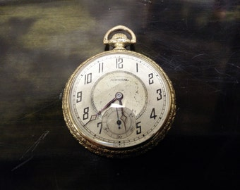 Swiss Admiral 7 Jewel pocket watch. 1930's
