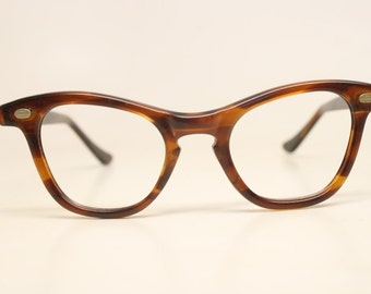 Tortoise Unused Cat Eye Eyeglasses Vintage Eyewear Retro Glasses Cat Eye Frames