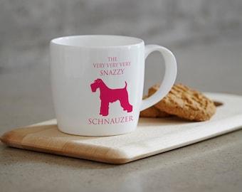 Schnauzer Mug, Schnauzer Gift, Schnauzer Design, Schnauzer present, Schnauzer home decor, Schnauzer birthday, schnauzer hostess gift