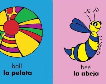 My First Words: Bilingual Magnets ~ English and Spanish