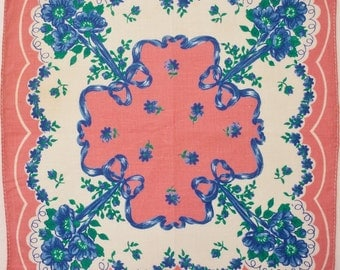 Bright Pink Handkerchief