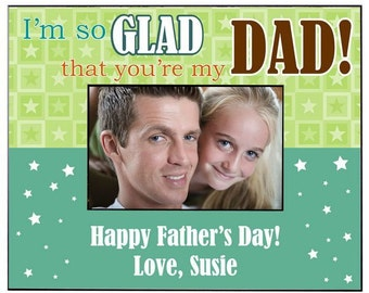Personalized Father's Day Photo Frame