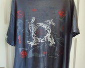 Reserved dont buy Vintage 90s RED HOT CHILI Peppers Blood Sugar Sex Magik T Shirt Giant Brand sz M