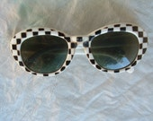 bakelite sunglasses hand made circa 1955's made in Italy never been worn free shipping