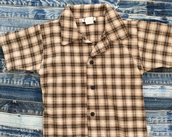 Boys - Toddlers - Vintage - Short Sleeve Shirt