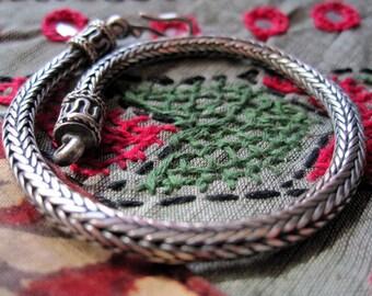 India Silver Bracelet.