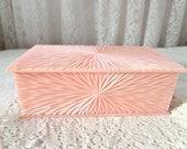 Vintage Pink Celebrity Vanity Box