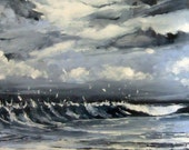 Pacific After the Storm - Original Painting