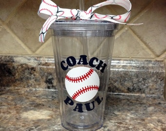 Personalized Coach Tumbler