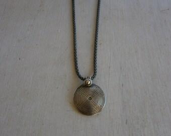 Vintage - Silver - Pendant - on chain