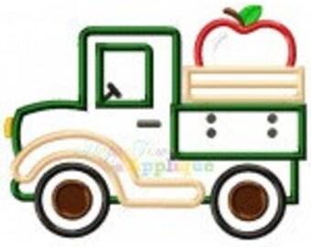 Apple Truck Shirt, Apple Shirt, Boy Apple Shirt, Apple Picking Shirt, Fall Shirt, Truck Shirt, Toddler Boy Shirt