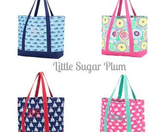 Monogram Beach Bag, Beach Bag, Pool Bag