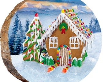Christmas Ginger Bread House - DX116