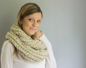 Infinity Scarf, Chunky Knit