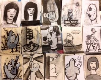 15 little fun drawings......(original)