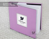 Baby Memory Book - Lilac