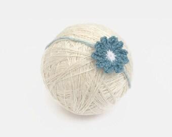 baby girl headband | daisy flower headband | newborn headbands | newborn photo prop | baby girl headwrap