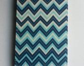 Children's Sermon Notebook - Multi-Blue Chevron