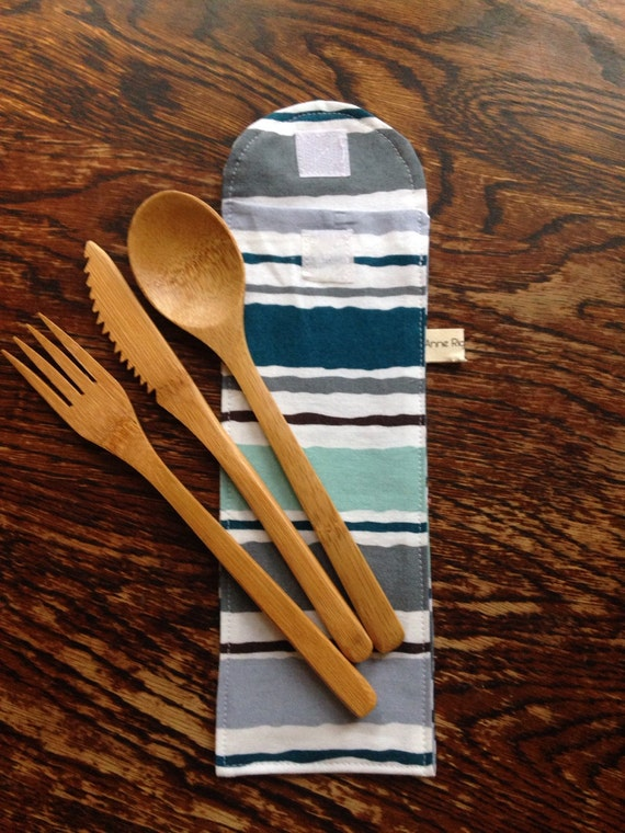 how to make a cutlery pouch