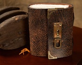 Aged Industrial - Functional Art - Leather Journal