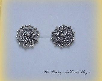Earrings - Silver 925 - SARDO CRAFTS original- JEWELS