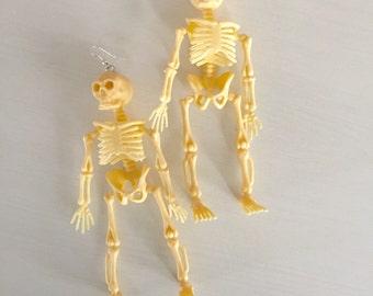 Huge Skelton Earrings