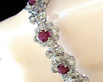 Rubies&Diamond bracelet