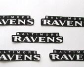 "Baltimore Ravens ""NO SEW"" Appliques"