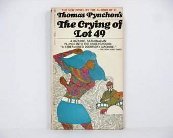 The Crying Of Lot 49 by Thomas Pynchon 1967 Vintage Mass Market Paperback Book