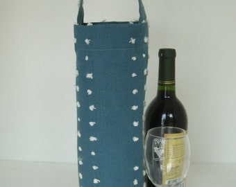 Queen's Blue Wine Bag/Tote Bag/Gift Bag