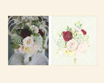 Custom Bouquet Painting