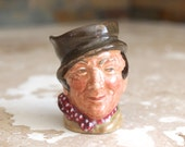 Tiny Toby - vintage miniature Royal Doulton Sam Weller tiny toby mug jug - Charles Dickens Pickwick Papers Sam Weller toby