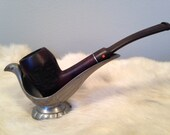 K - This is a vintage Lowell tobacco pipe