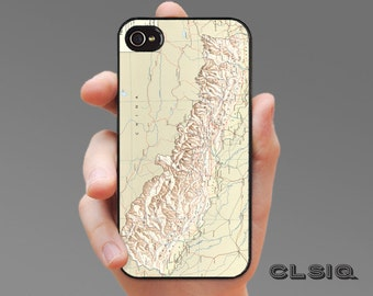 Vintage Kathmandu Nepal Map Case for iPhone 6/6S, 6+/6S+, 5/5S, 5C, 4/4S, iPod Gen 5, Samsung Galaxy S6, Galaxy S5, Galaxy S4, Galaxy S3