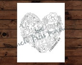 Instant Download - 1 Corinthians 16:14 Coloring Page