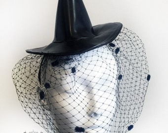 Latex Rubber Witch Hat Costume By Vex Latex