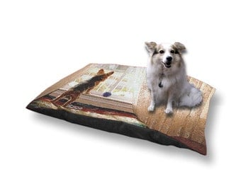 Pet Bed Dog Bed Yorkie Yorkshire Terrier 18x28 30x40
