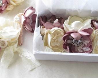 Floral Wrist Corsage / Made to Order