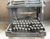 Antique Remington Typewriter No. 6