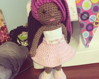 Fuschia the Princess Doll