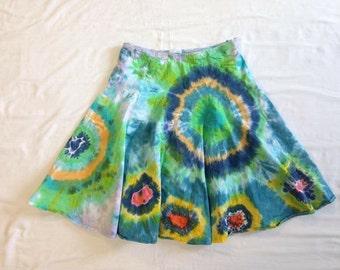 Funky Tie Dye misses Skirt size 4 W102