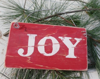 Christmas sign, Joy sign, Wooden Christmas sign, Holiday sign, Joy Christmas sign, Holiday decor, Christmas wall decor, Rustic Christmas Joy