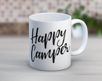 Happy Camper // Coffee Mug