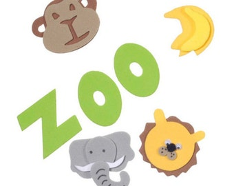 Zoo Foam Stickers by Foamies