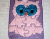 Build Your Own Quiet Book -Owl Busy Book - Owl Felt Puzzle - Owl Learning Toy - Owl Quiet Book - Owl Busy Bag - Educational Toy