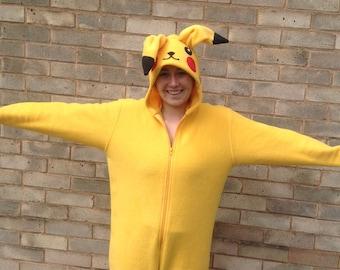 Adult Pikachu/ Pokemon onesie