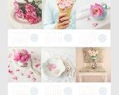 2016 Calendar 4x6 Individual Page Calendar, Desk Calendar, Photo Calendar, Christmas Gift - STOCKING STUFFER - Teacher Gift