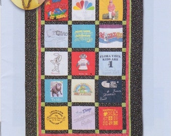 T-Shirt Quilt Pattern DIY Design by Marcia Lasher Quilt in a day Company Quilting Sewing